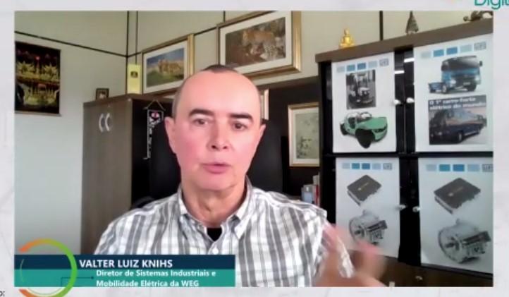 """Valter Luiz: """"eletrificação foi possibilitada desde 1.801"""""""